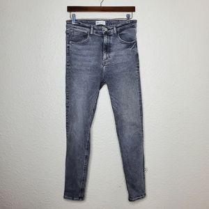 Zara Vintage Hi-Rise Skinny Jeans Size 8